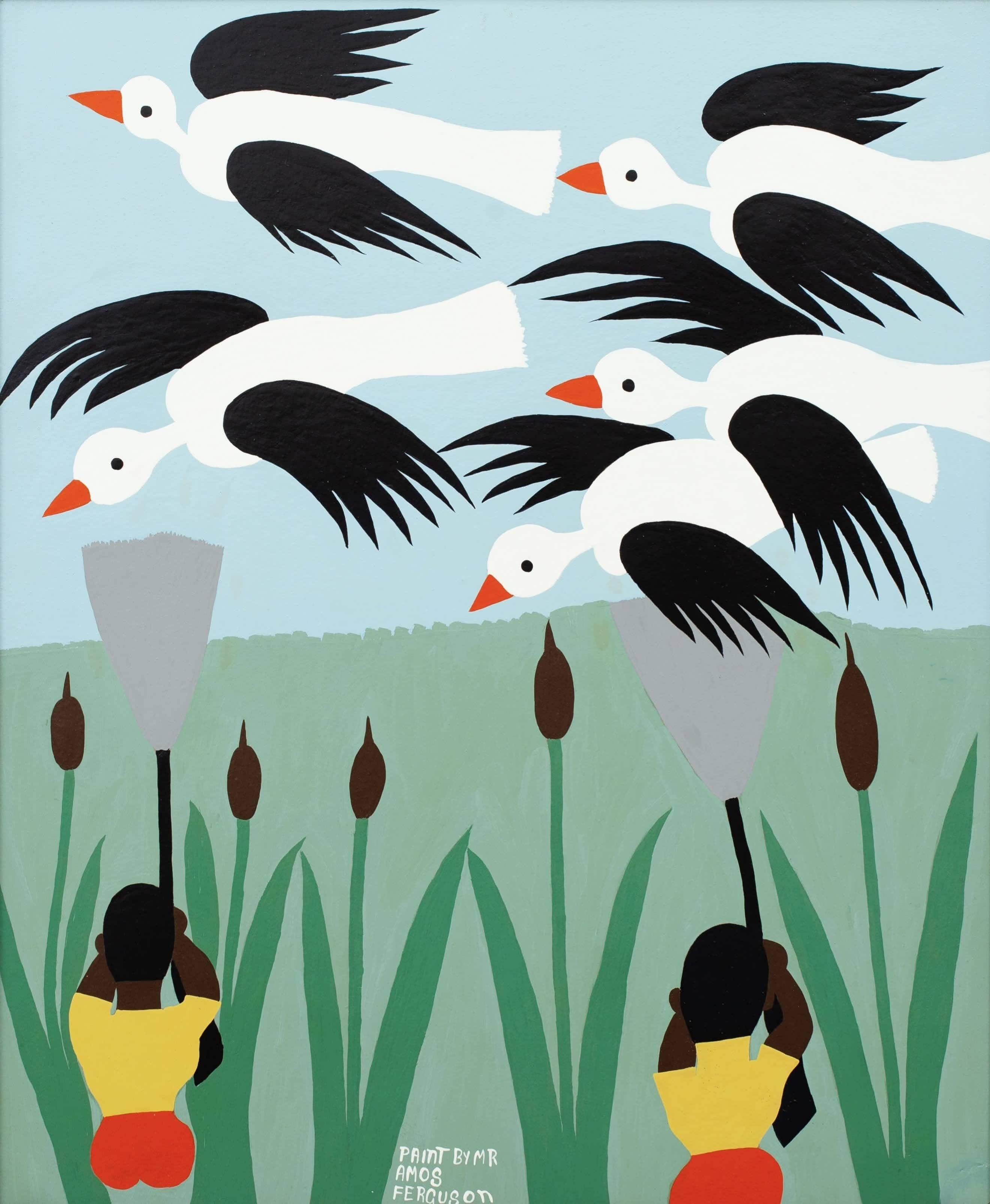 Amos Ferguson, Artwork, Painting
