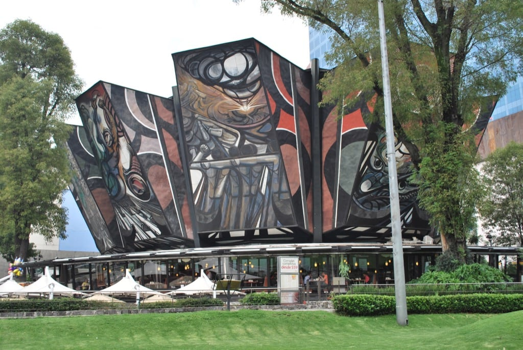 The Murals of David Alfaro Siqueiros