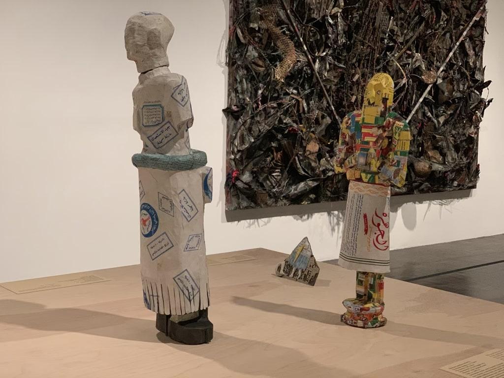 Michael Rakowitz, The Invisible Enemy Should Not Exist paper art