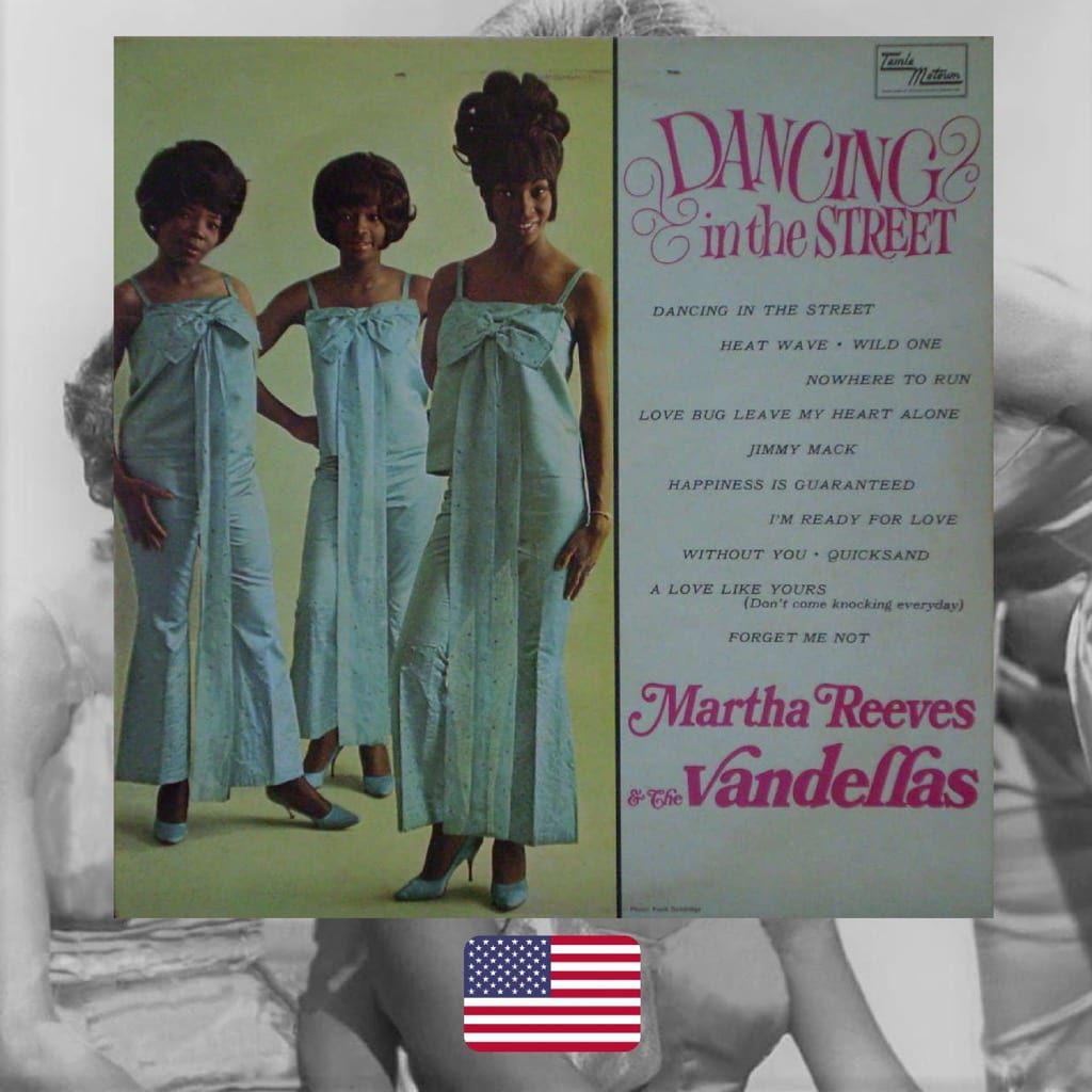 Martha Reeves and the Vandellas, Dancing in the street, review