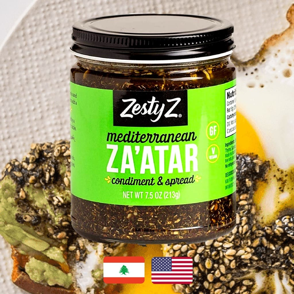 Zesty, Z Za'atar Spread, review