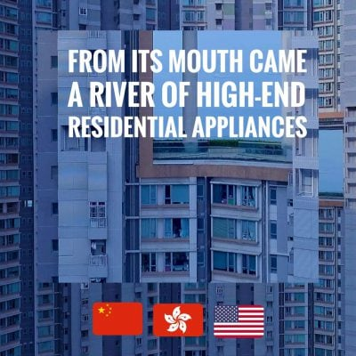 Jon Wang, From Its Mouth Came A River Of High-End Residential Appliances, review