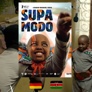 Likarion Wainaina, Supa Modo movie poster