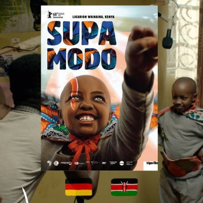 Likarion Wainaina, Supa Modo movie poster