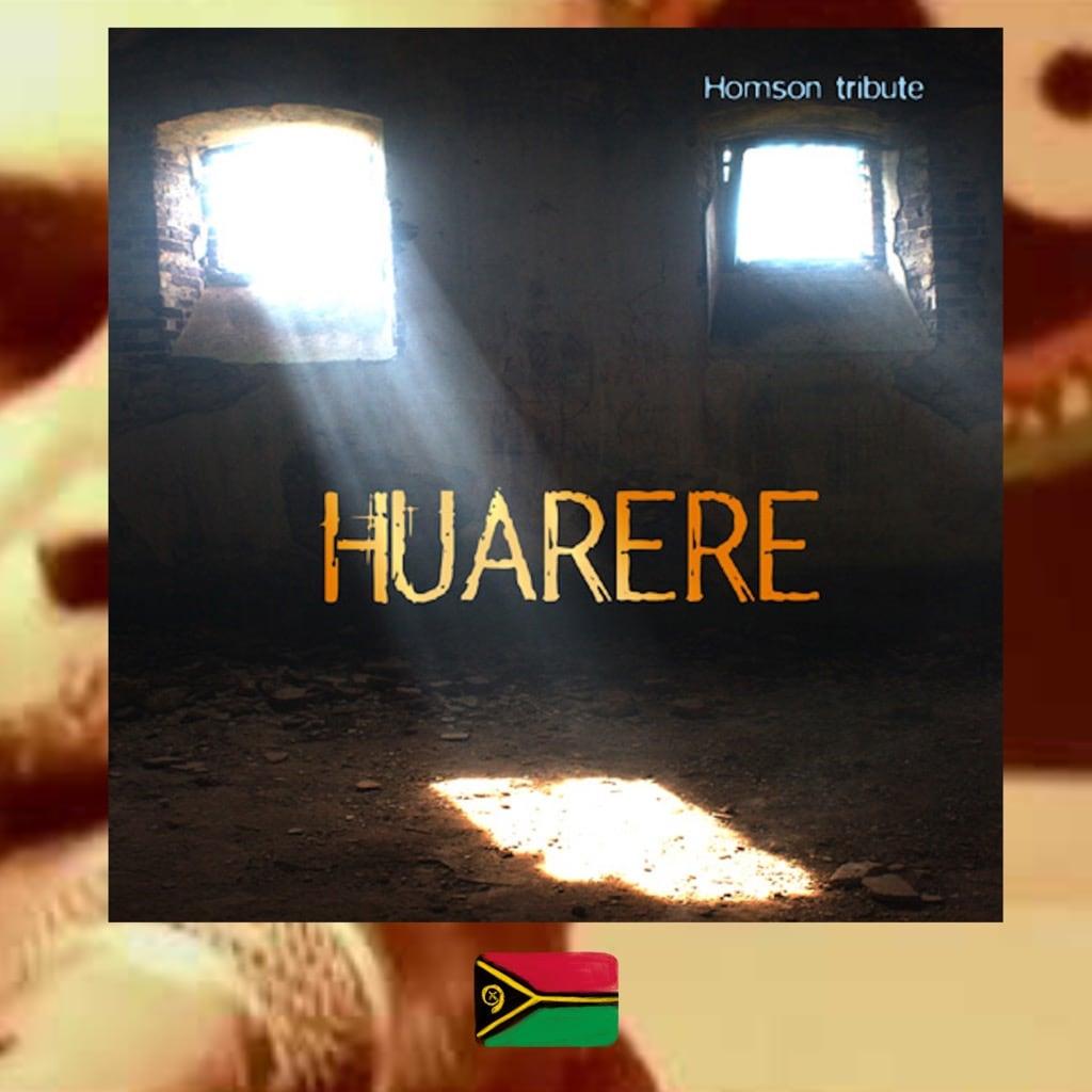 Huarere Homson Tribute album cover