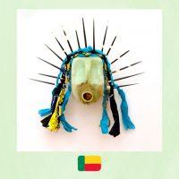 Romuald Hazoumè art, petrol tank mask
