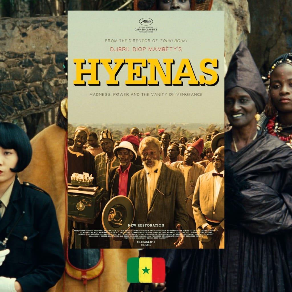 Djibril Diop Mambéty, Hyenas movie poster
