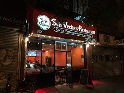 Seis Vecinos Restaurant New York City