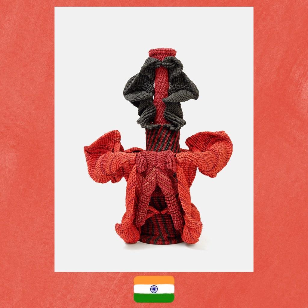 Mrinalini Mukherjee, Adi Pushp II, art sculpture