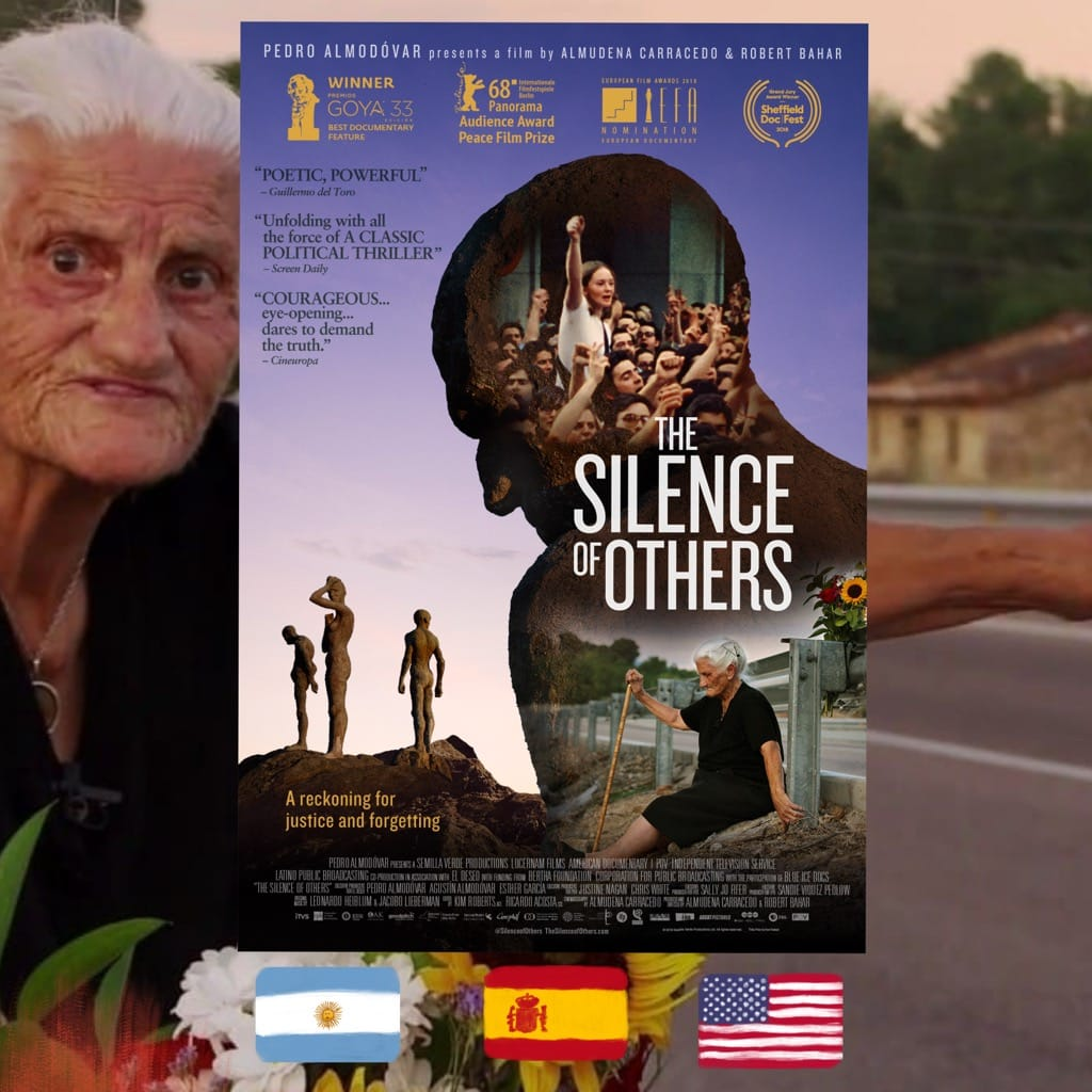 Robert Bahar and Almudena Carracedo, The Silence of Others, movie poster