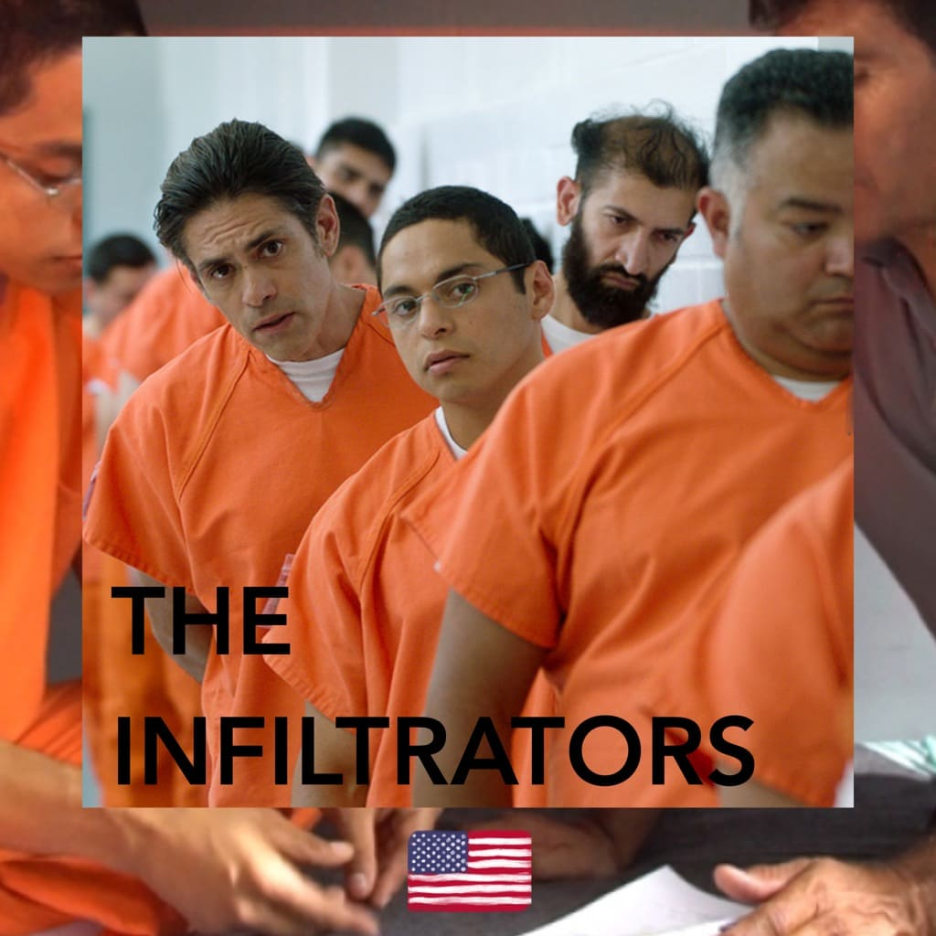 Alex Rivera and Cristina Ibarra, The Infiltrators, movie poster