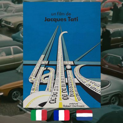 Jacques Tati, Traffic, movie poster