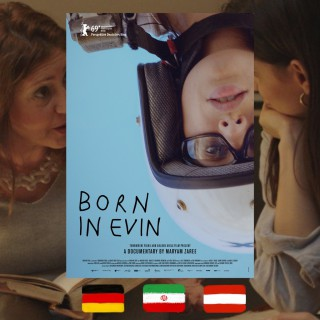 Maryam Zaree, Born in Evin, movie poster
