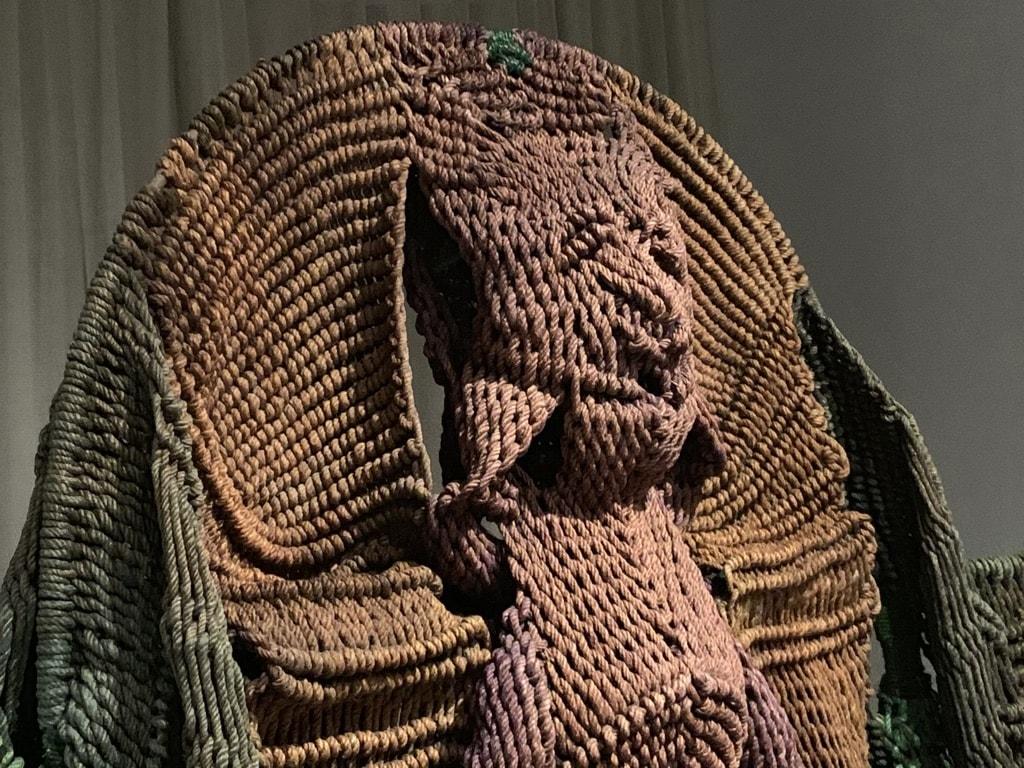 Mrinalini Mukherjee braided abstract sculpture