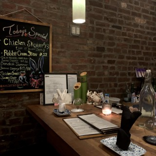 Asian Fusion Tapas at Rabbit House restaurant in NYC