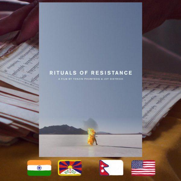 Tenzin Phuntsog and Joy Dietrich, Rituals of Resistance, movie poster