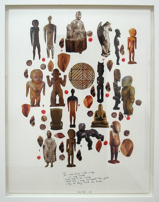 Art from Niue, John Pule artwork