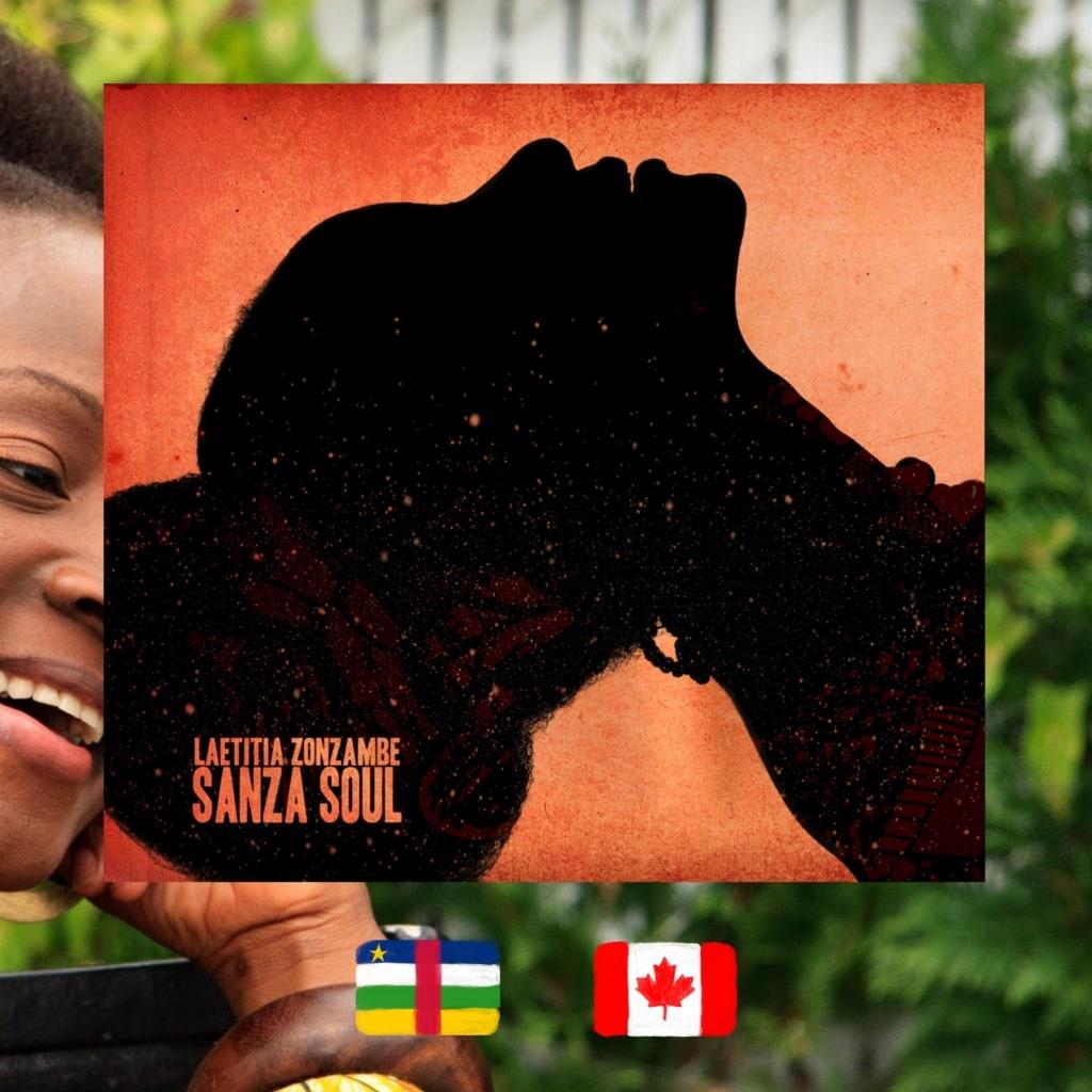 Laetitia Zonzambe, Sanza Soul, album cover