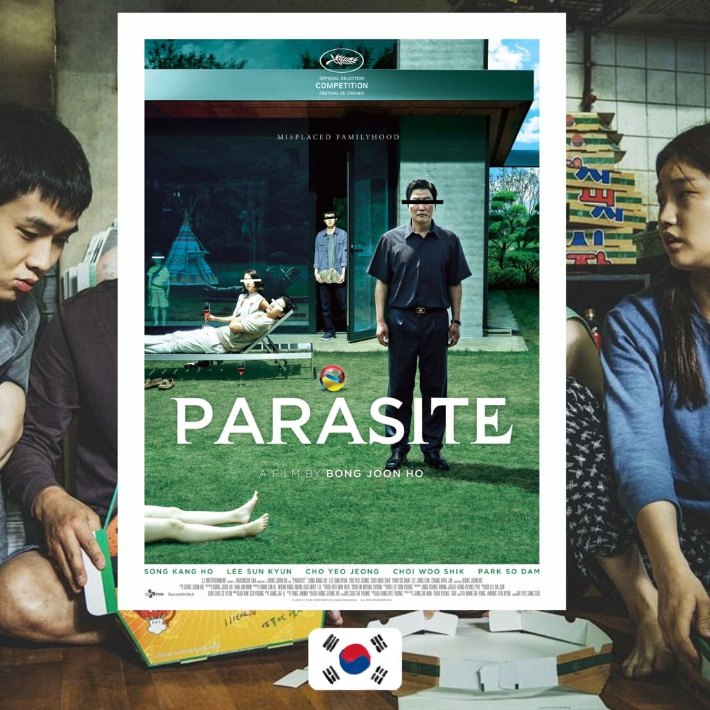 Parasite Movie Poster 2019 Korean Film Silk Canvas Poster Print 13x18 32x43 inch