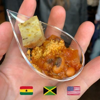 New York African Restaurant Week Festivalplate foto