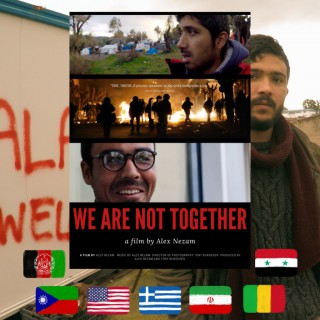 Alex Nezam, We Are Not Together, movie poster