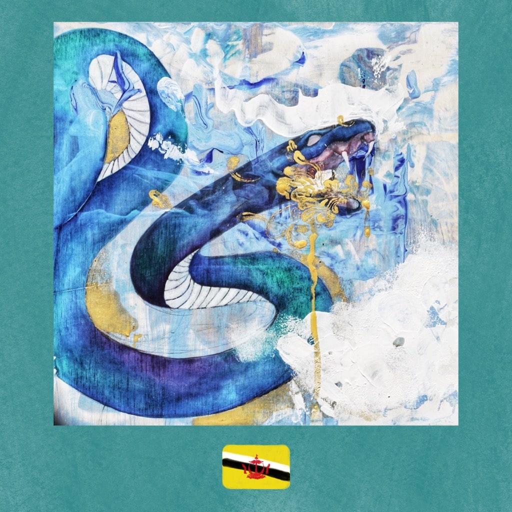 Art from Brunei, Osveanne Osman