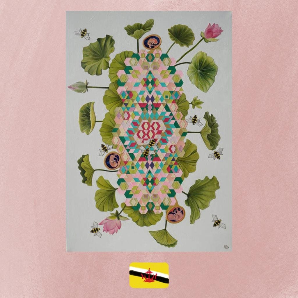 Art from Brunei, Maziyah Yussof