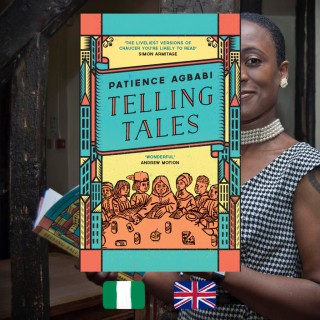Patience Agbabi, Telling Tales, book cover