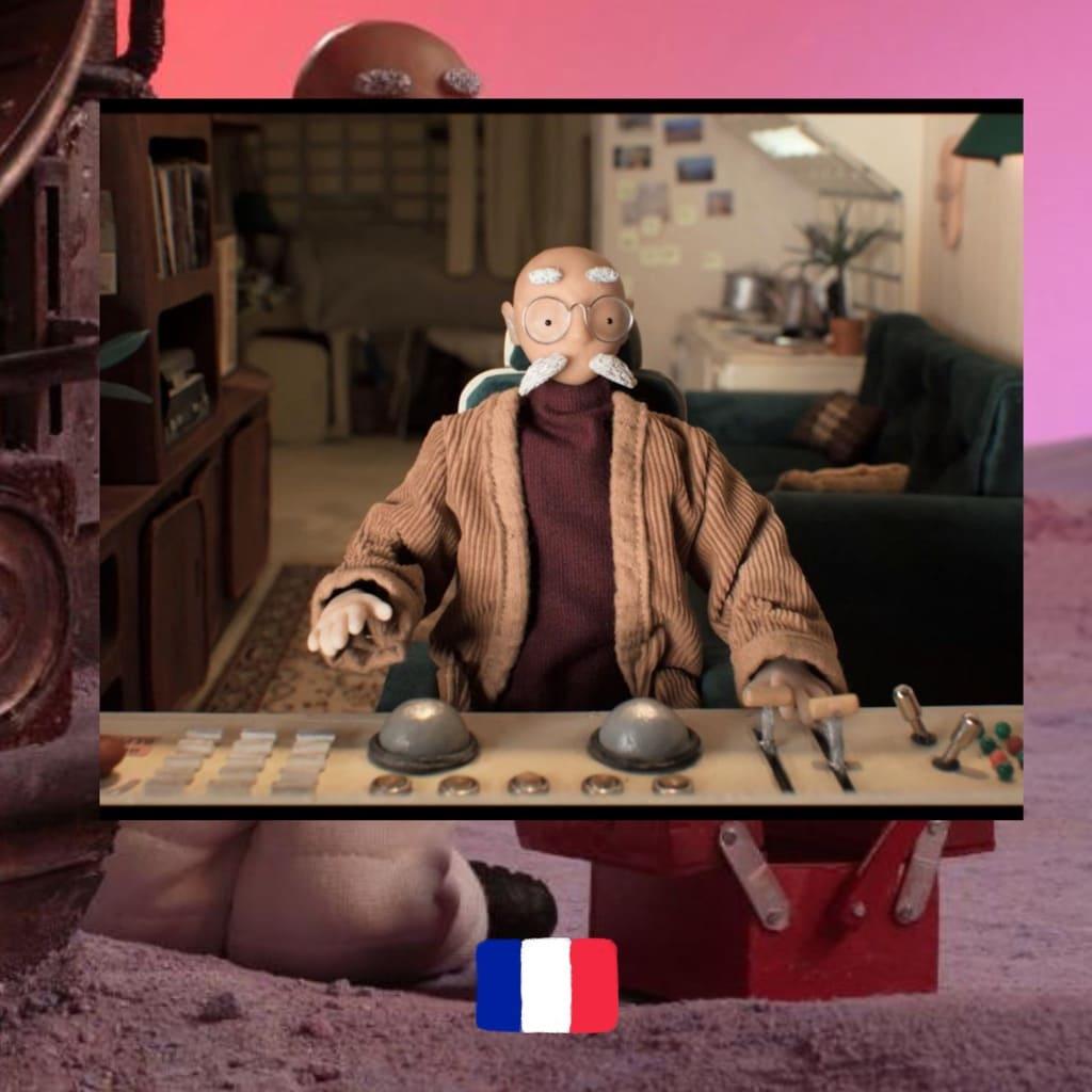 Home Away 3000, dir. Héloïse Pétel & Philippe Baranzini, film, cartoon, poster