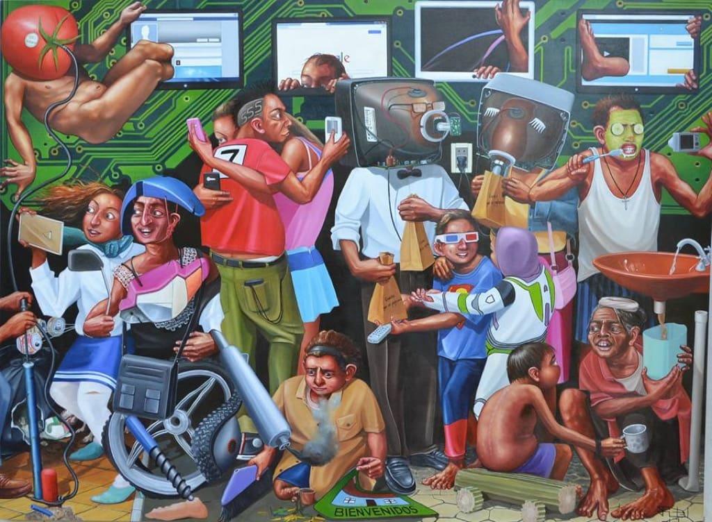 Fidel Fernández Paraguay, art, painting