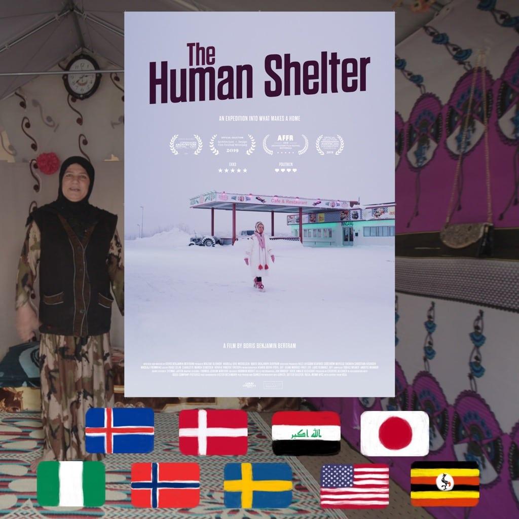 Human Shelter, dir. Boris Benjamin Bertram, movie poster