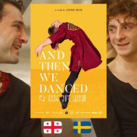 And Then We Danced, dir. Levan Akin, movie poster
