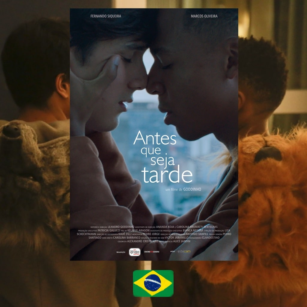 Before It's Too Late, director Leandro Goddinho, movie poster