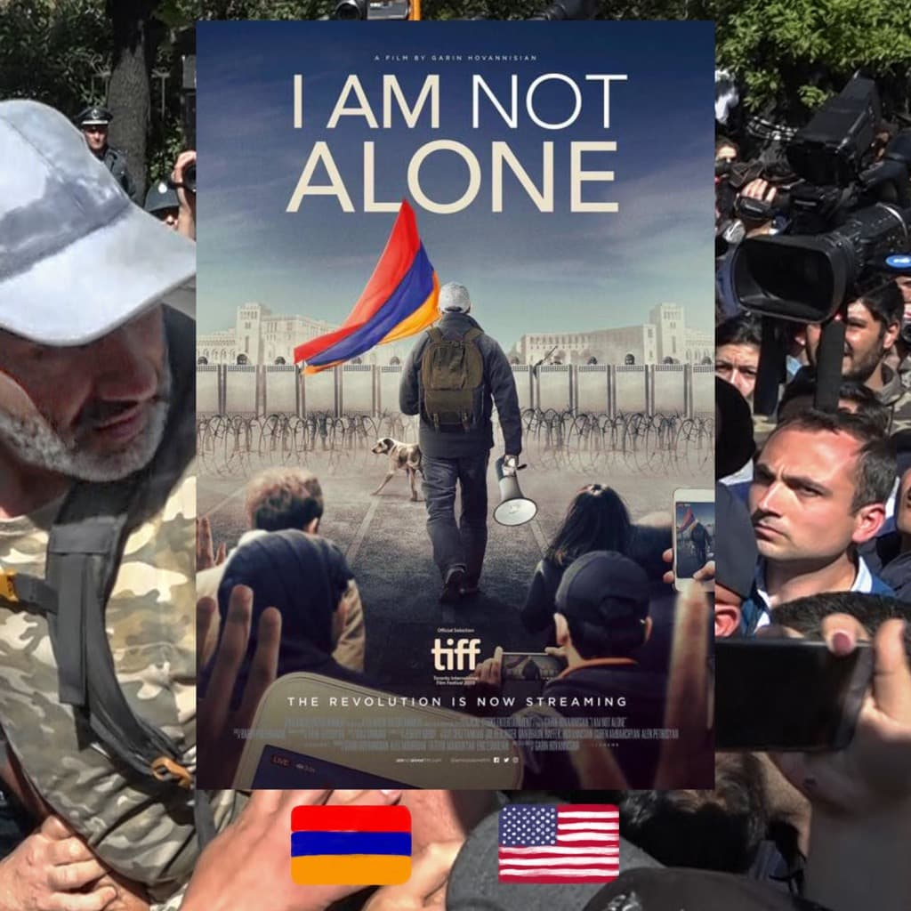 I Am Not Alone, director Garin Hovannisian, movie poster