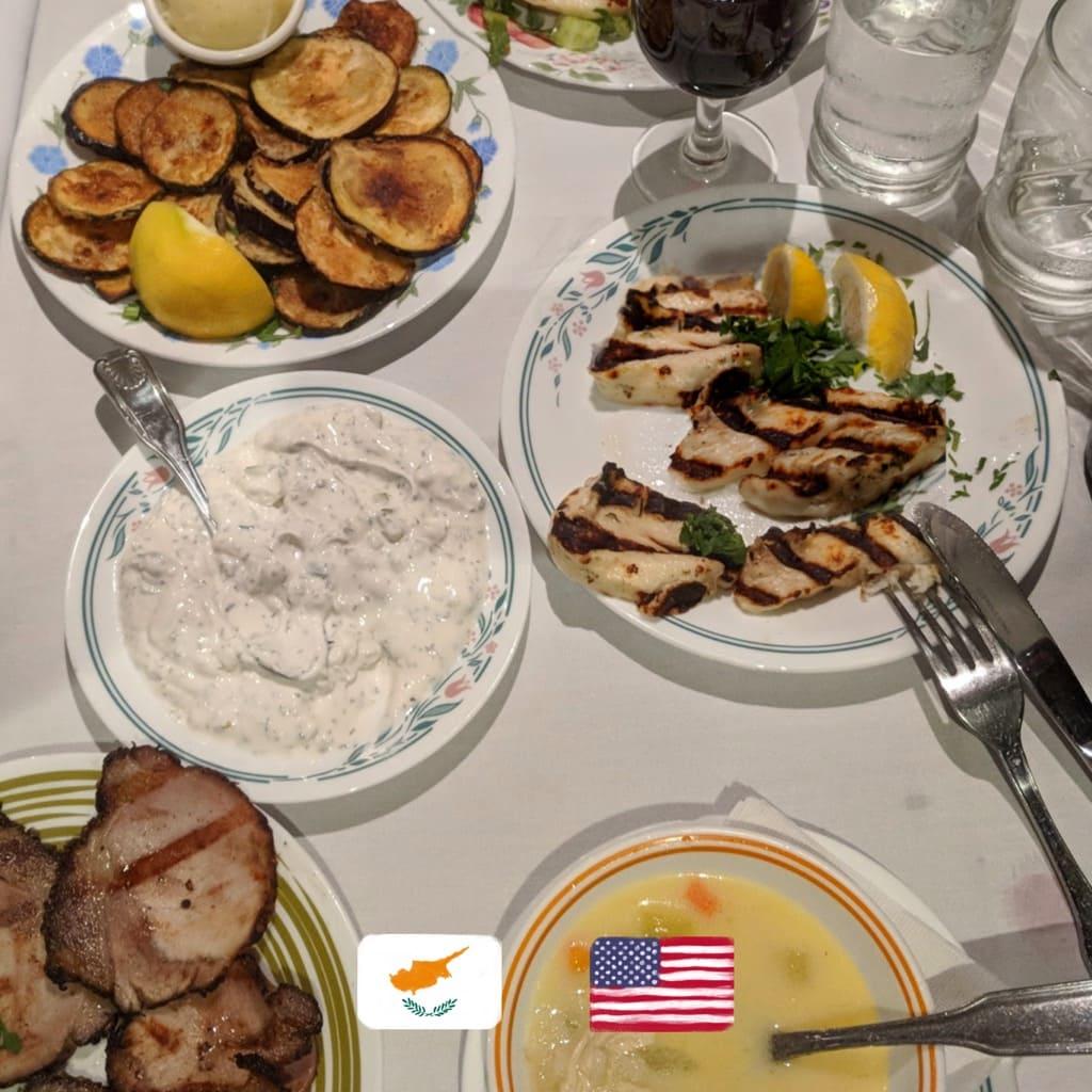 Zenon Taverna NYC Cyprus food pictures
