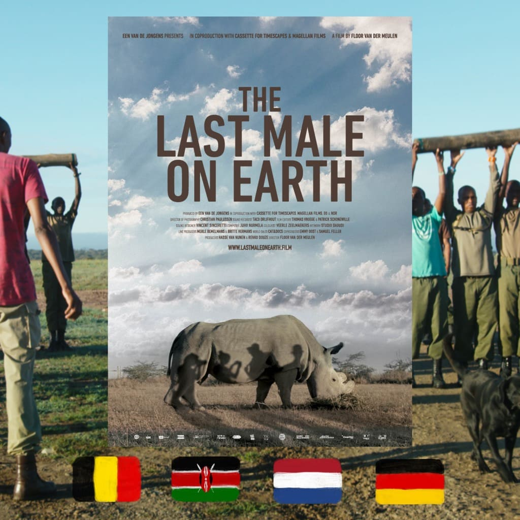 The Last Male on Earth, Floor van der Meulen, movie poster. Photo by Een van de Jongens