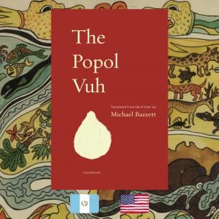 Popol Vuh, translator Michael Bazzett, book cover