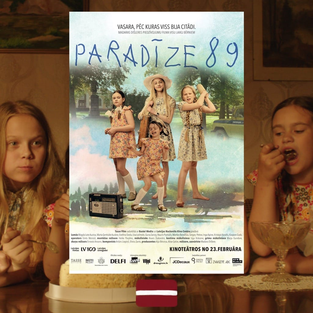 Paradise '89, Madara Dišlere, movie poster