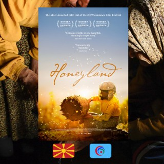 Honeyland, Tamara Kotevska, Ljubomir Stefanov, movie poster
