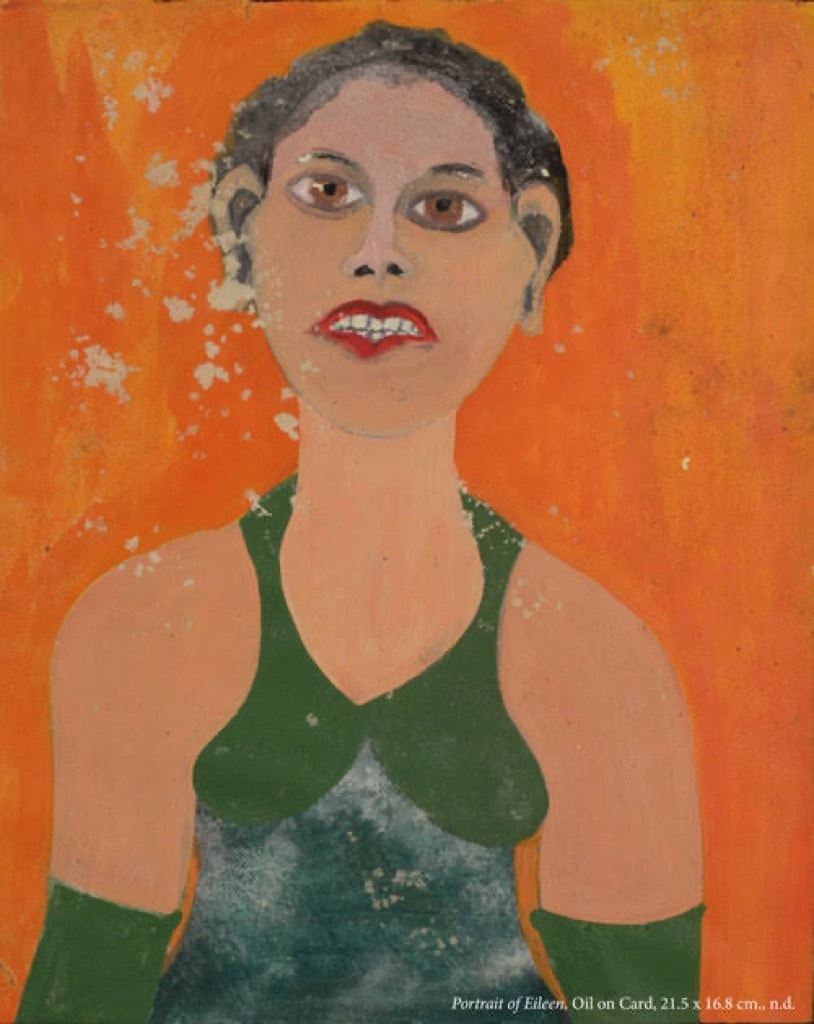 Frank Walter, Outsider Art, Painting, woman