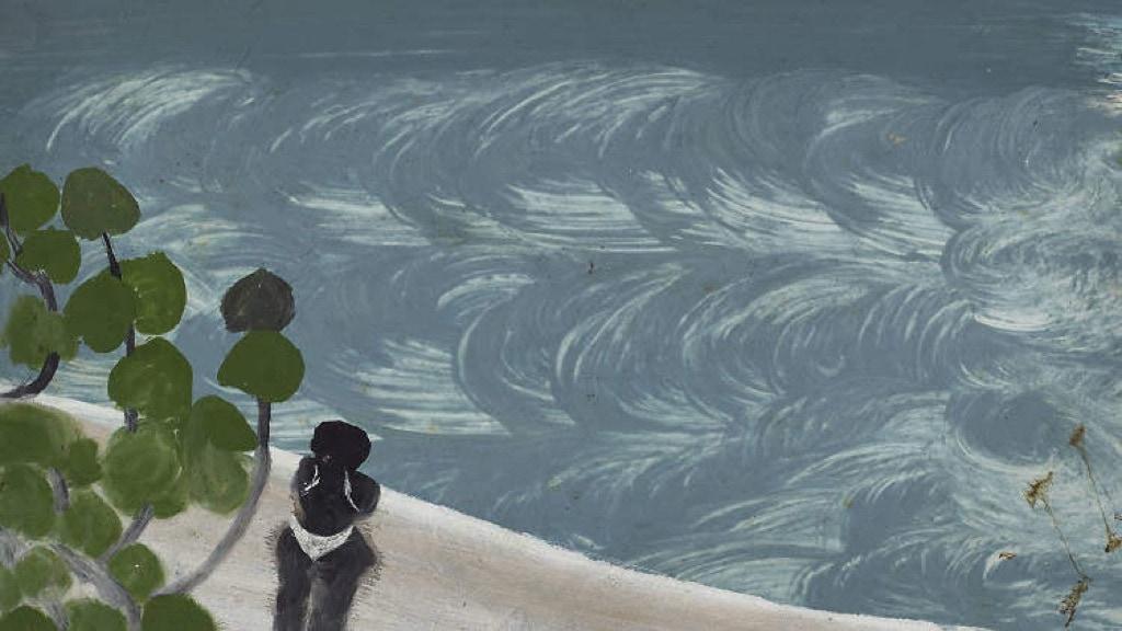 Frank Walter, Outsider Art, Painting, river