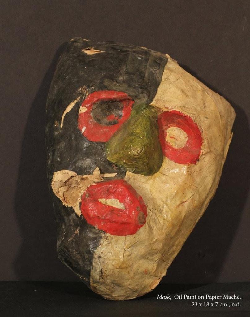 Frank Walter, Outsider Art, Painting, mask