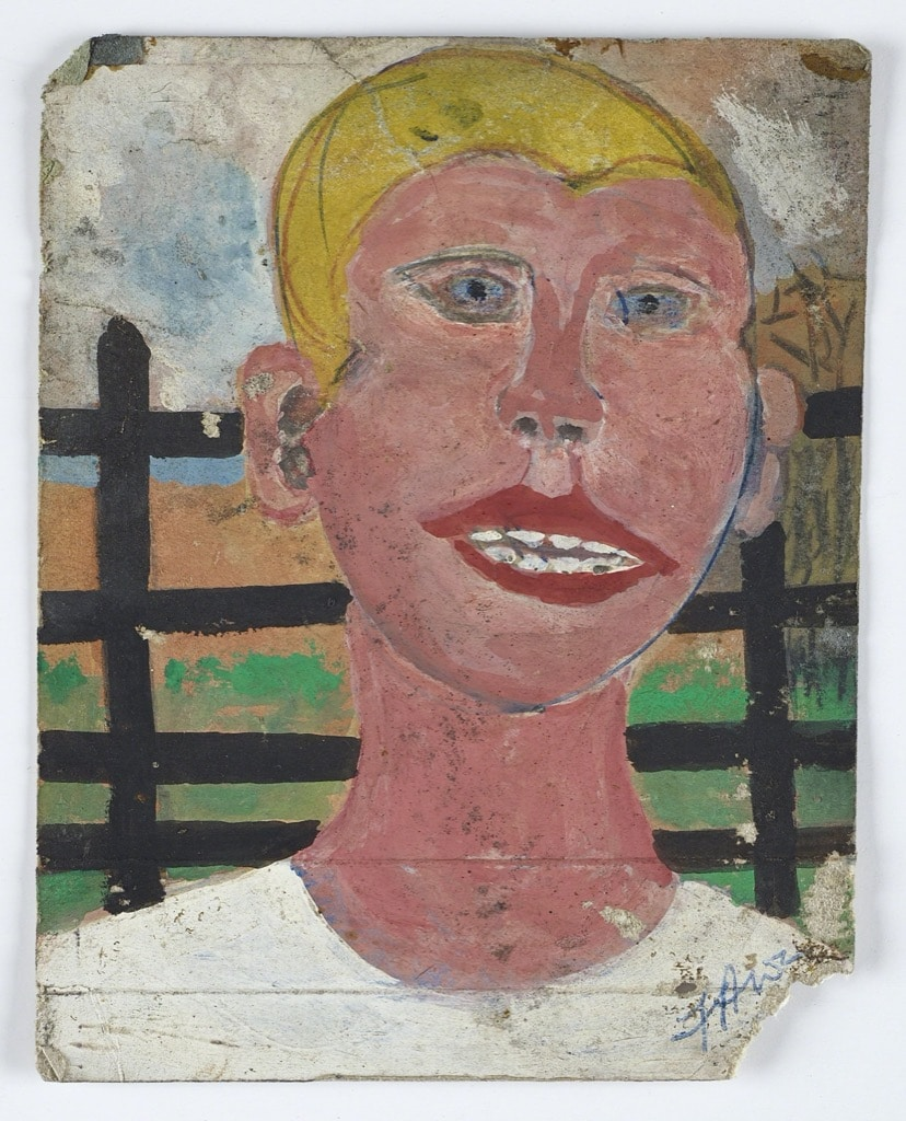 Frank Walter, Outsider Art, Painting, white person
