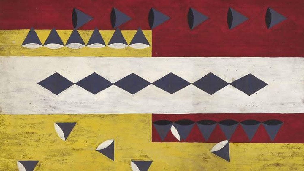 Frank Walter, Outsider Art, Painting, abstract