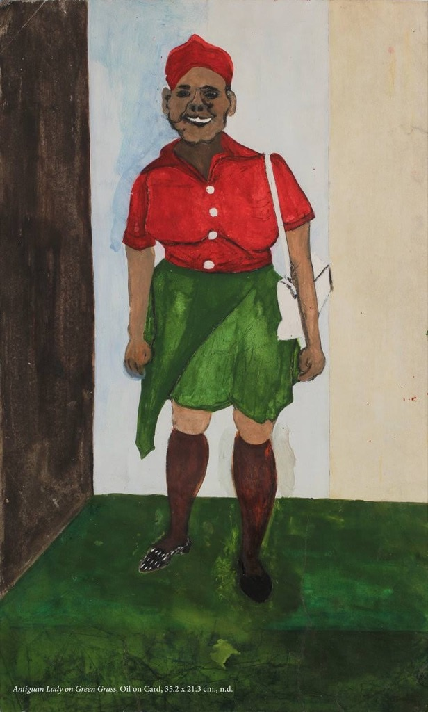 Frank Walter, Outsider Art, Painting, a person