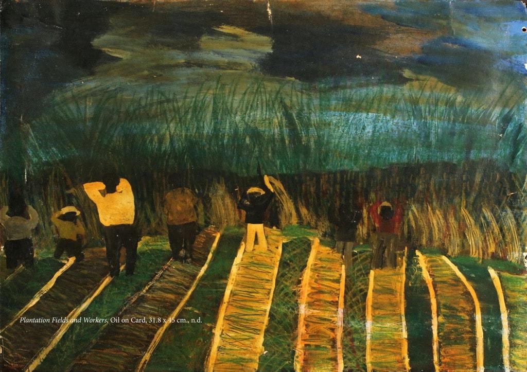 Frank Walter, Outsider Art, Painting, field