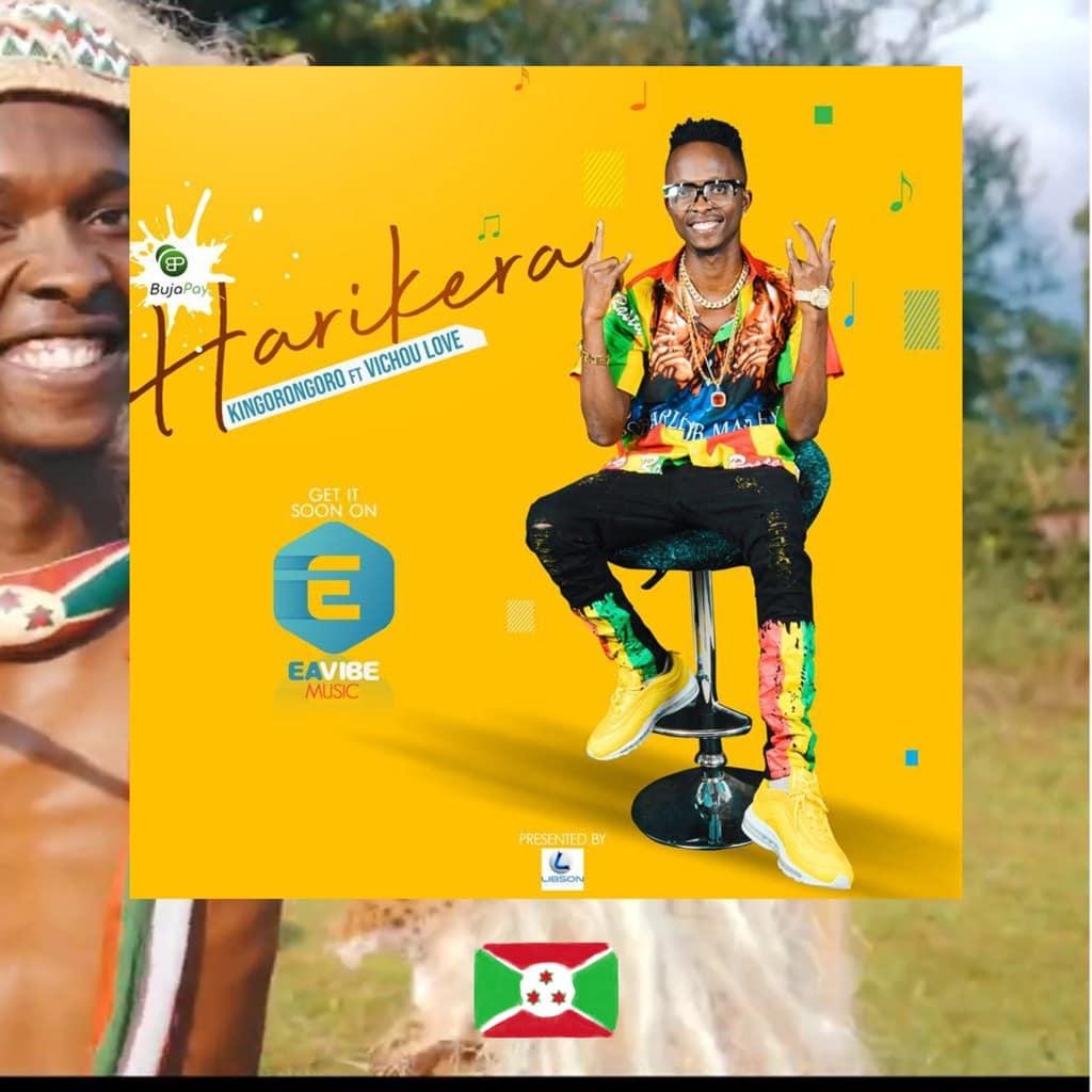 Kingorongoro, Hari Kera, feat. Vichou Love, album cover