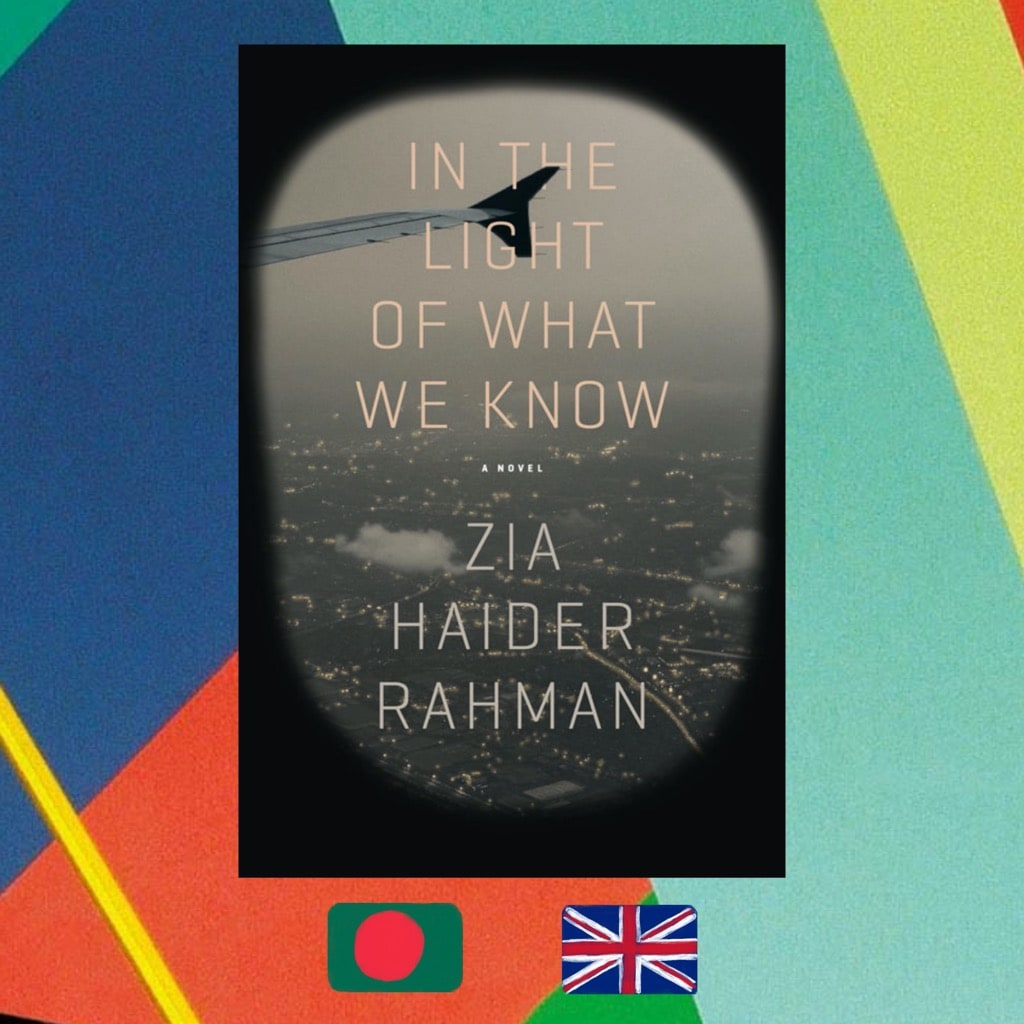 Zia Haider Rahman, In the Light of What We Know, Book cover