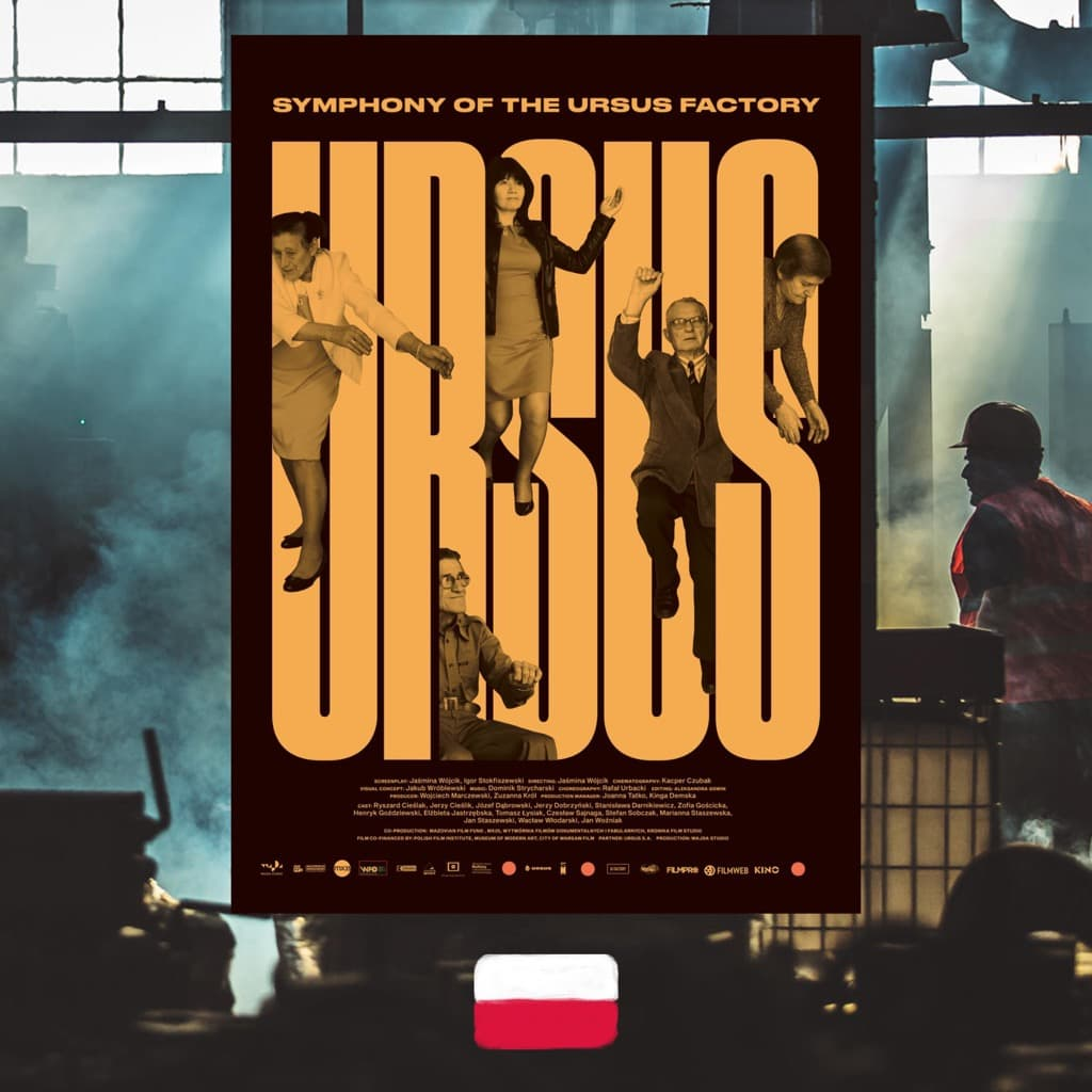 Symphony of the Ursus Factory, Jasmina Wojcik, movie poster
