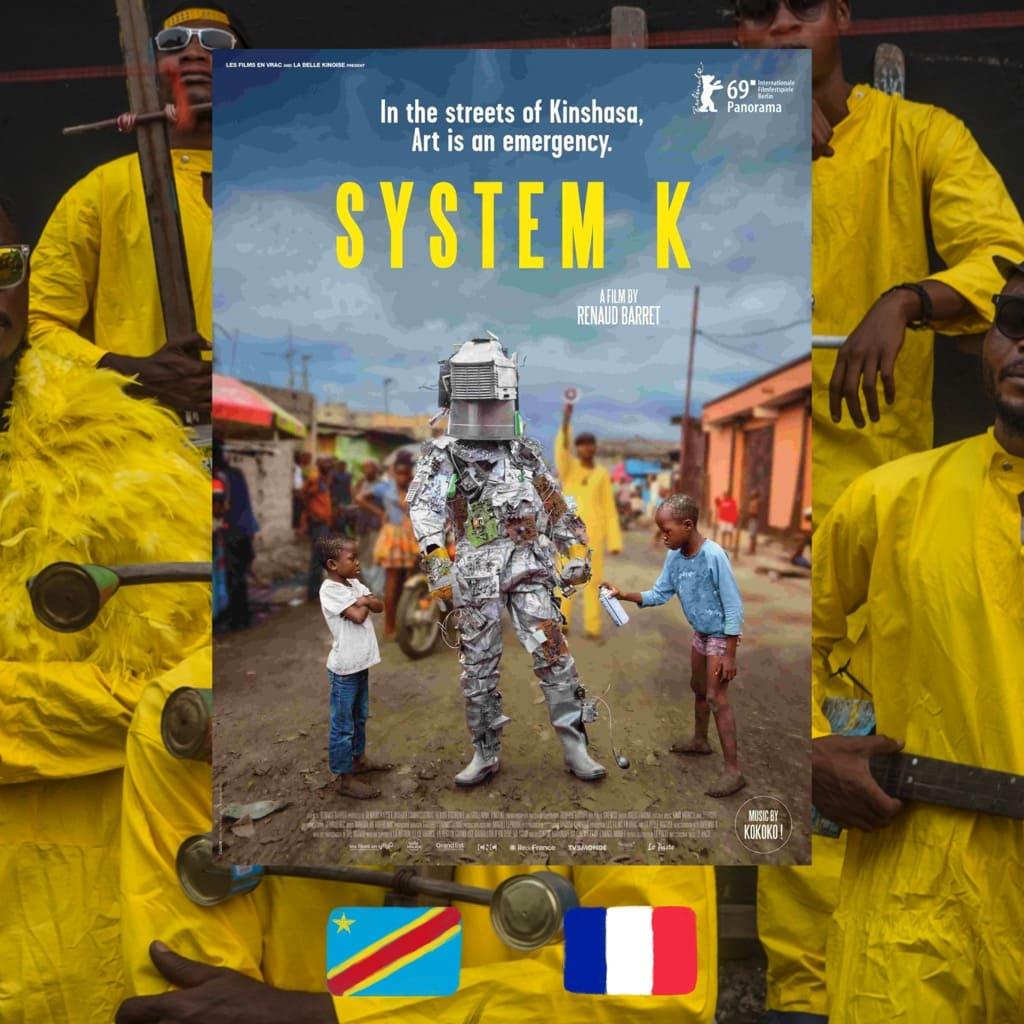 System K, Renaud Barret, movie poster